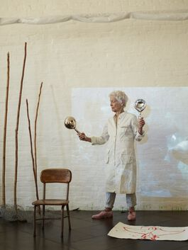 Artist's Talk: Joan Jonas with Marina Warner