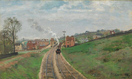 Pissarro: Lordship Lane Station, Dulwich