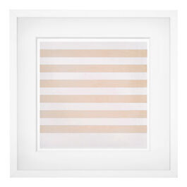Agnes Martin Happy Holiday (framed print)