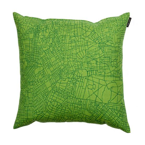 Metropolis cushion - green