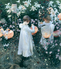 Sargent: Carnation, Lily, Lily, Rose (custom print)