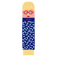 Modern artist David Sock-knee socks