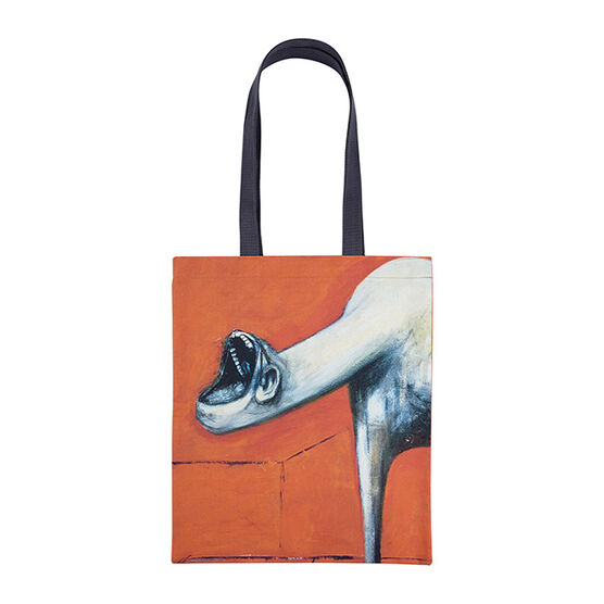 Francis Bacon triptych tote bag