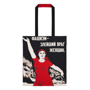 Fascism: Most Evil Enemy of Women tote bag
