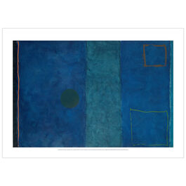 Patrick Heron: Blue Painting : September 1961-1962 poster