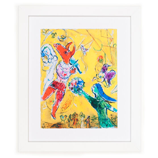 The Dance and the Circus - framed print