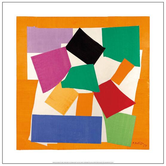 Matisse The Snail (large unframed print)