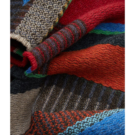 Rauschenberg inspired scarf - multicolour