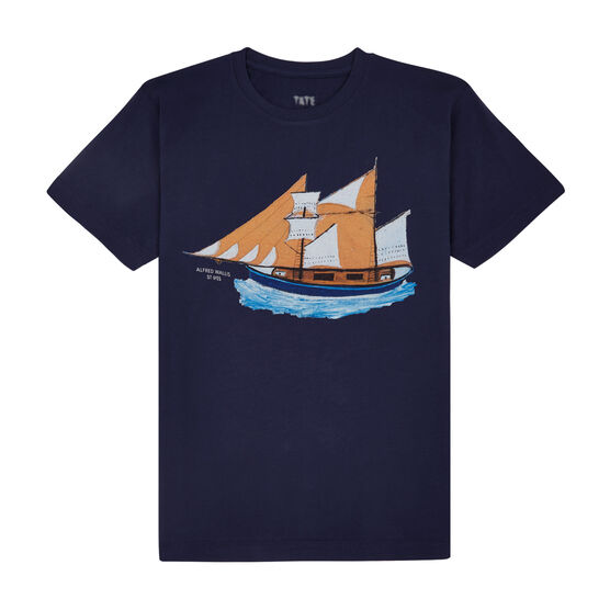 Alfred Wallis Blue Ship t-shirt