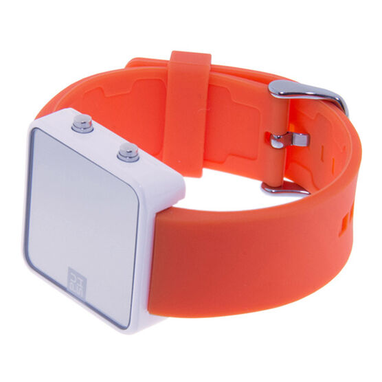 Orange Push watch