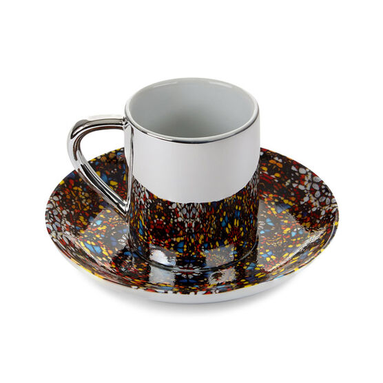 Damien Hirst Doorways to the Kingdom of Heaven Cup and Saucer