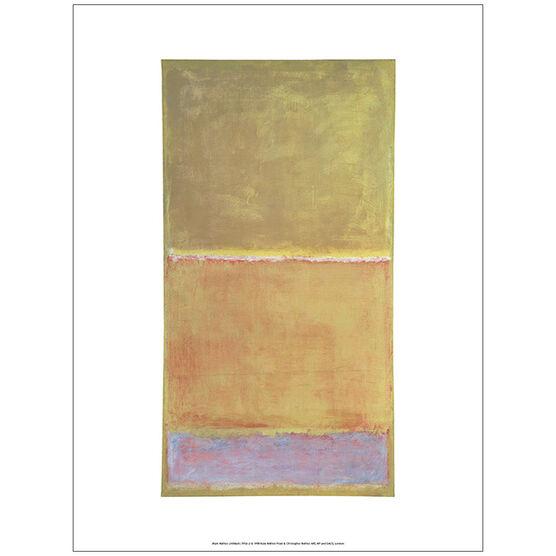 Rothko Untitled (unframed print)