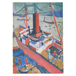 Derain The Pool of London tea towel