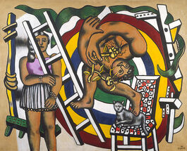 Leger: The Acrobat and his Partner