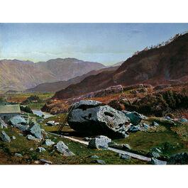 Grimshaw: Bowder Stone, Borrowdale (custom print)