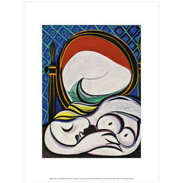 Pablo Picasso:The Mirror exhibition print