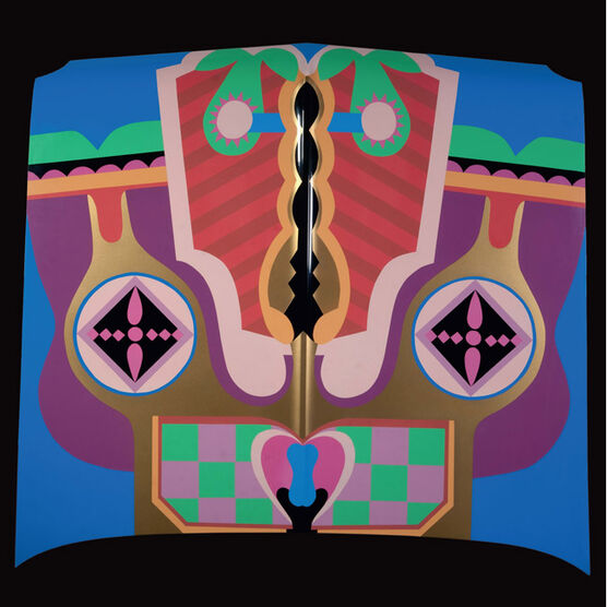 Judy Chicago Birth Hood (signed poster)