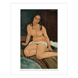 Modigliani Seated Nude (mini print)