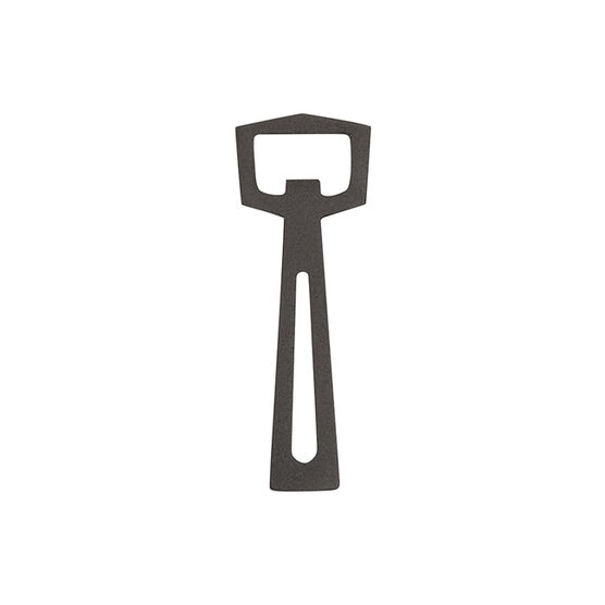 Cast iron hexagonal top bottle opener