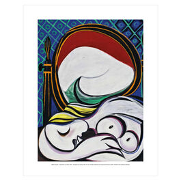 Pablo Picasso: The Mirror mini print