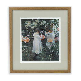Sargent Carnation, Lily (framed print)
