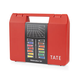 Watercolour paint art box set (14) red