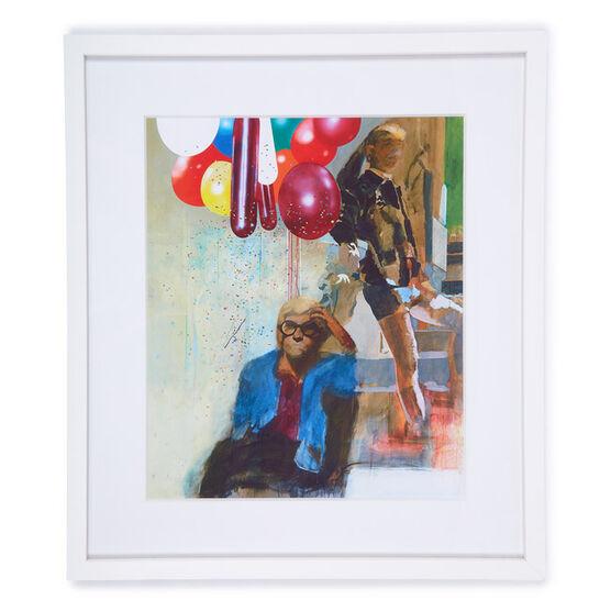 Peter Blake Portrait of David Hockney (framed print)