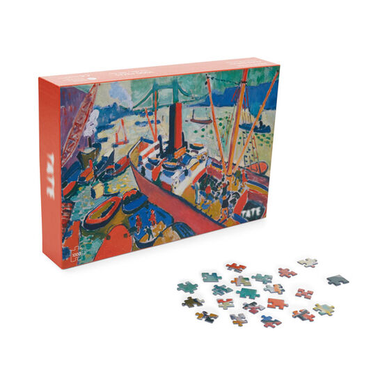 Derain The Pool of London jigsaw puzzle