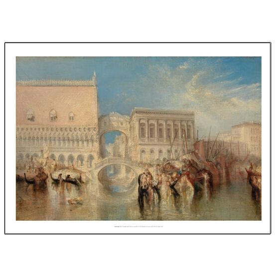 JMW Turner Venice Bridge of Sighs (poster)