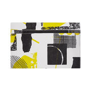 Laura Slater small yellow leather clutch bag