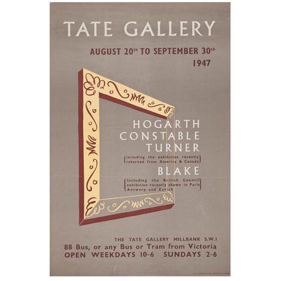 1947 (Tate vintage poster reproduction)