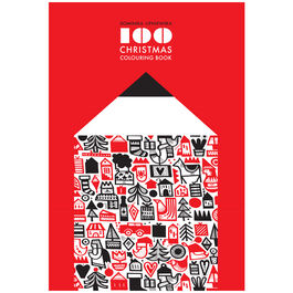 100 Christmas Colouring Book