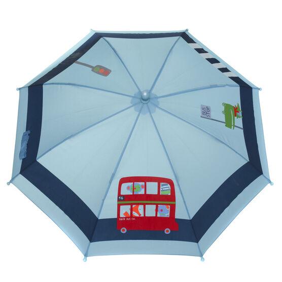 London bus colour change umbrella