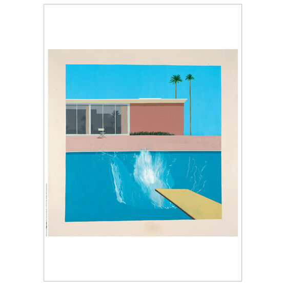 David Hockney A Bigger Splash 1967 poster