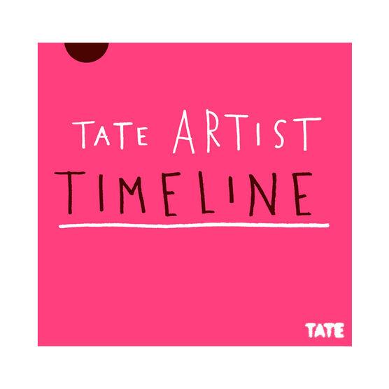 Tate Artist Timeline