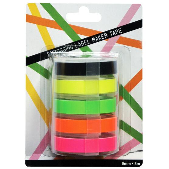 Label maker tapes - pack of 5