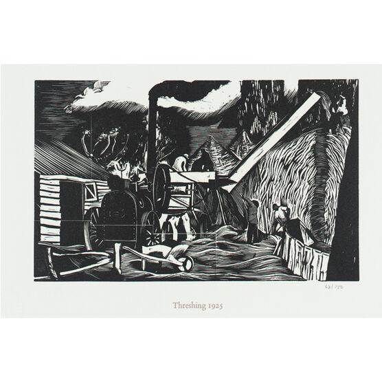 Nash Threshing (unframed print)