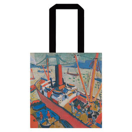 Derain The Pool of London tote bag