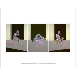Francis Bacon: Triptych August 1972 mini print