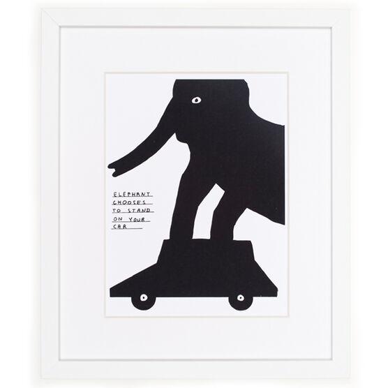 David Shrigley Untitled (framed print)