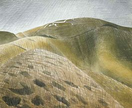 Ravilious: The Vale of the White Horse (custom print)