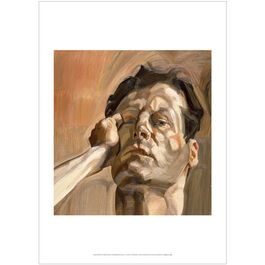 Lucian Freud: Man's Head (Self-Portrait I) poster