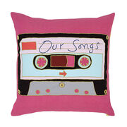Grayson Perry ''Mix Tape'' cushion cover
