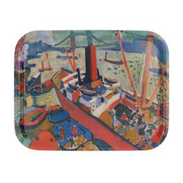 Derain The Pool of London tray