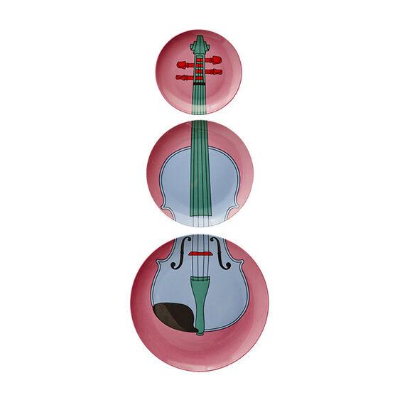 Michael Craig-Martin Violin plates - pink