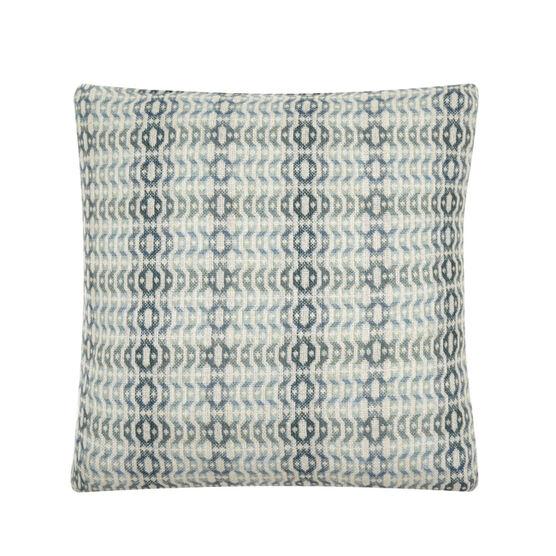 Llarwydden large blue cushion