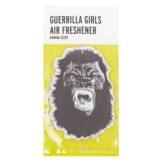 Guerrilla Girls Air Freshener
