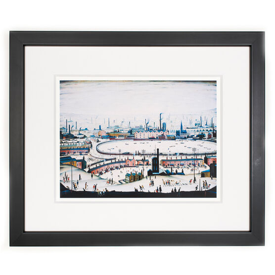 Lowry The Pond (framed print)