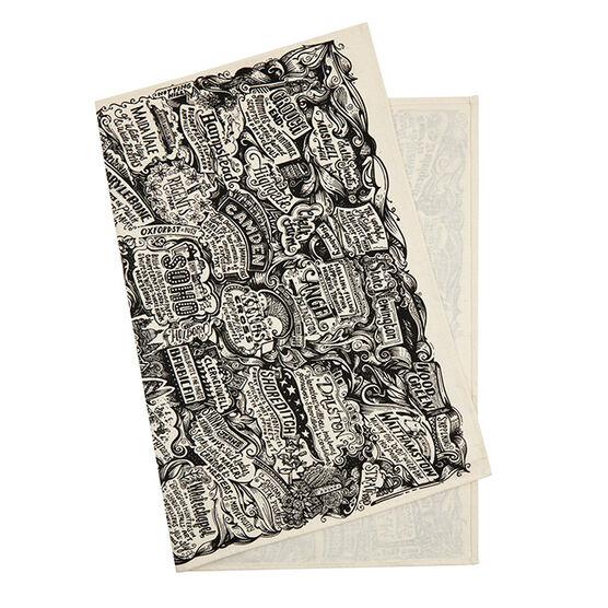 Vic Lee tea towel