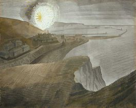 Ravilious: Shelling by Night